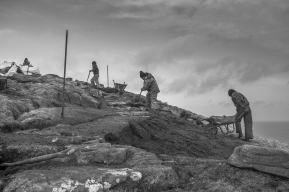 Mountain Path Builder project. Copyright Robert Andrew Mercer. Longterm photographic study documentation.